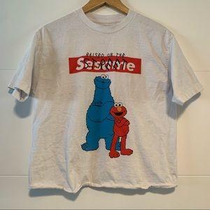 Sesame Street | Graphic Crop Tee Shirt